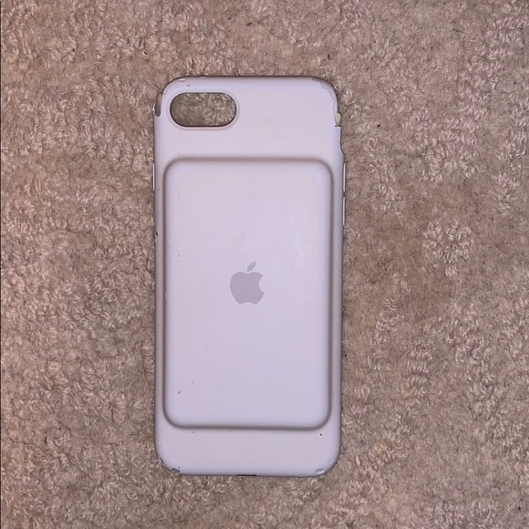 iphone 7 white apple charging case